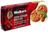 Walker's Stem Ginger Biscuits -3.9oz