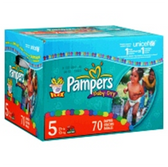Pampers Cruisers Diapers with Dry Max Size 5