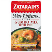 Zatarain's New Orleans Style Gumbo Mix w/ Rice -7 oz