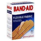 Johnson and Johnson Band Aid Flex Assorted Bandages - 30 Count