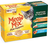 Meow Mix Poultry & Seafood -2.75oz/12ct