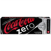 Coca Cola Zero Soda - 12 pk