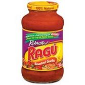 Ragu Roasted Garlic Pasta Sauce - 26 oz