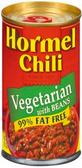Hormel Chili - Vegetarian w/ Beans -15oz