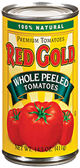 Red Gold - Whole Peeled Tomatoes -28oz