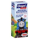 Braun Orajel Thomas The Tank Engine Toddler Training Toothpaste