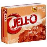 Jell-O Peach - 3 oz