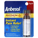 Anbesol Maximum Strength Liquid Instant Pain Relief, 0.41 OZ