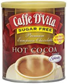 Caffe Dvita Sugar Free Hot Cocoa Mix -10oz