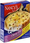 Nancy's Quiche - Cheese Trio -6oz