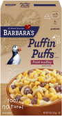 Barbara's Puffin Puffs - Fruit Medley -9oz