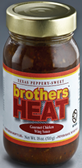 Brother's Gourmet Wing Sauce - Heat -18oz