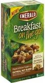 Emerald Breakfast On the Go Bars - Maple & Brown Sugar Oatmeal-5