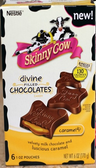 Skinny Cow Divine Filled Chocolate - Caramel -6 pouches