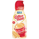 Coffee Mate Fat Free Original - Liquid - 16 oz