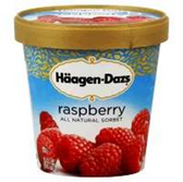 Haagen Dazs Fat Free Raspberry Sorbet