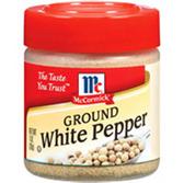 McCormick Ground White Pepper -1 oz