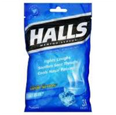 Halls Menthol Lyptus Cough Drops - 30 Count