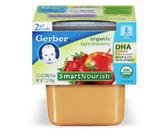 Gerber Organic 2nd Food - Apples and Strawberries