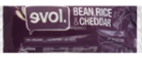 Evol Bean Rice and Cheddar Burrito, 6oz