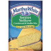 Martha White Sweet Yellow Cornbread Mix -19 oz