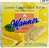 Manner Lemon Wafer Pocket -2.11oz