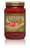Classico Organic Tomato Herbs & Spices Sauce - 24 oz