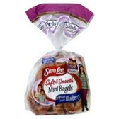 Sara Lee Mini Bagels Blueberry  -12 oz