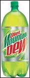 Mountain Dew Diet Soda -2L