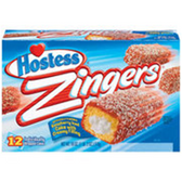 Hostess Zingers Raspberry Iced w/ Cream Filled Cakes-18 oz