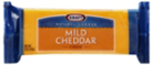 Kraft Natural Mild Cheddar Block Cheese -8oz