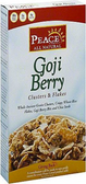 Peace Cereal - Goji Berry Clusters & Flakes -11oz