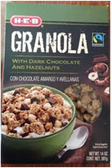 Store Brand Granola Chocolate Granola With Dark Chocolate-11oz