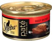 Sheba Premium Pate Salmon  Entrée -3.oz