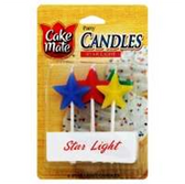 Star Light Candles -4 ct