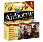Airborne Orange Tablets Bonus - 1.7 Oz