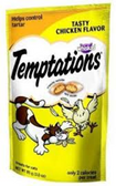 Whiskas Temptations Tasty Mega Chicken Flavor -6.3oz