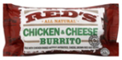 Red's Chicken and Cheese Burrito, 5oz