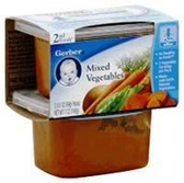Gerber Baby 2nd Food - Mixed Vegetables