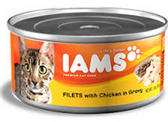 Iams Cat Fillets With Chiken -3oz