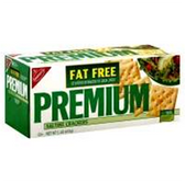 Nabisco Premium Fat Free Saltine Crackers -16 oz