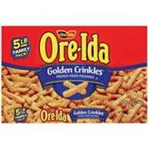 Ore Ida Golden Crinkles -5 LB