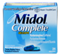 Midol Complete Maximum Strength Multi‑Symptom Relief Gelca