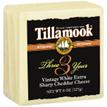 Tillamook Vintage White Extra Sharp Cheddar 2 Year -8oz