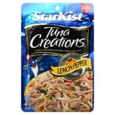 Starkist Tuna Creations Package - Zesty Lemon Pepper -4.5 oz