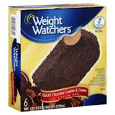 Weight Watchers Giant Chocolate Cookies and Cream Ice Cream Bar