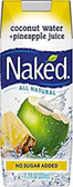 Naked Pure Coconut Water + Pineapple Juice -11.2oz