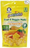 Gerber Graduates Fruit & Vegetable Melts Veggie Snacks-1oz