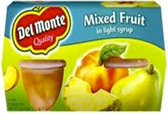 Del Monte - Mixed Fruit -4ct