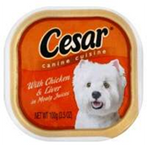 Cesar Select Dog Food Chicken/Liver- 3.5 Oz